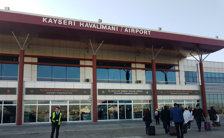 kayseri havaalanı